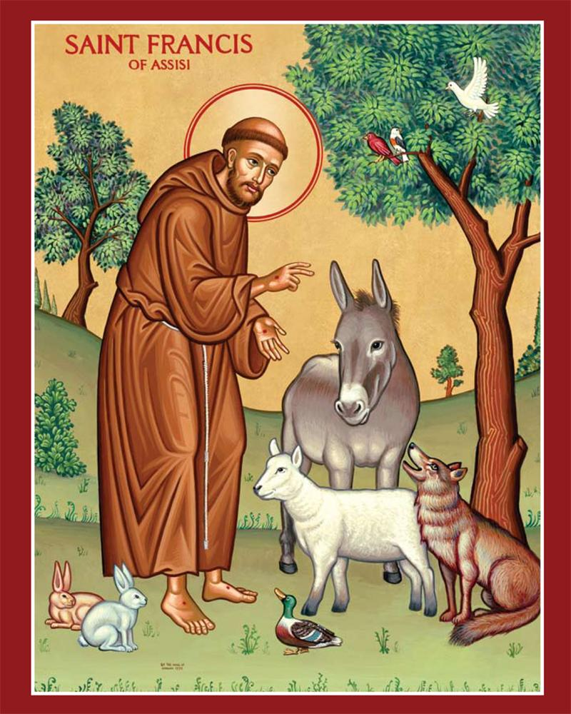 "St. Francis of Assisi (from <a href=""https://achristianpilgrim.wordpress.com/2013/10/04/saint-francis-of-assisi-feast-4-october/"" target=""_blank"">A Christian Pilgrimage</a>)"